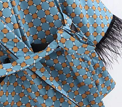 Blazer Print Cintura nbsp; Abrigo Dot Geométrica Fit Mediados De Traje Blazer Wjmm nbsp; Mujeres nbsp;mujer Slim Fajas Largo Abrigos Chaqueta nxUwq0IwA1