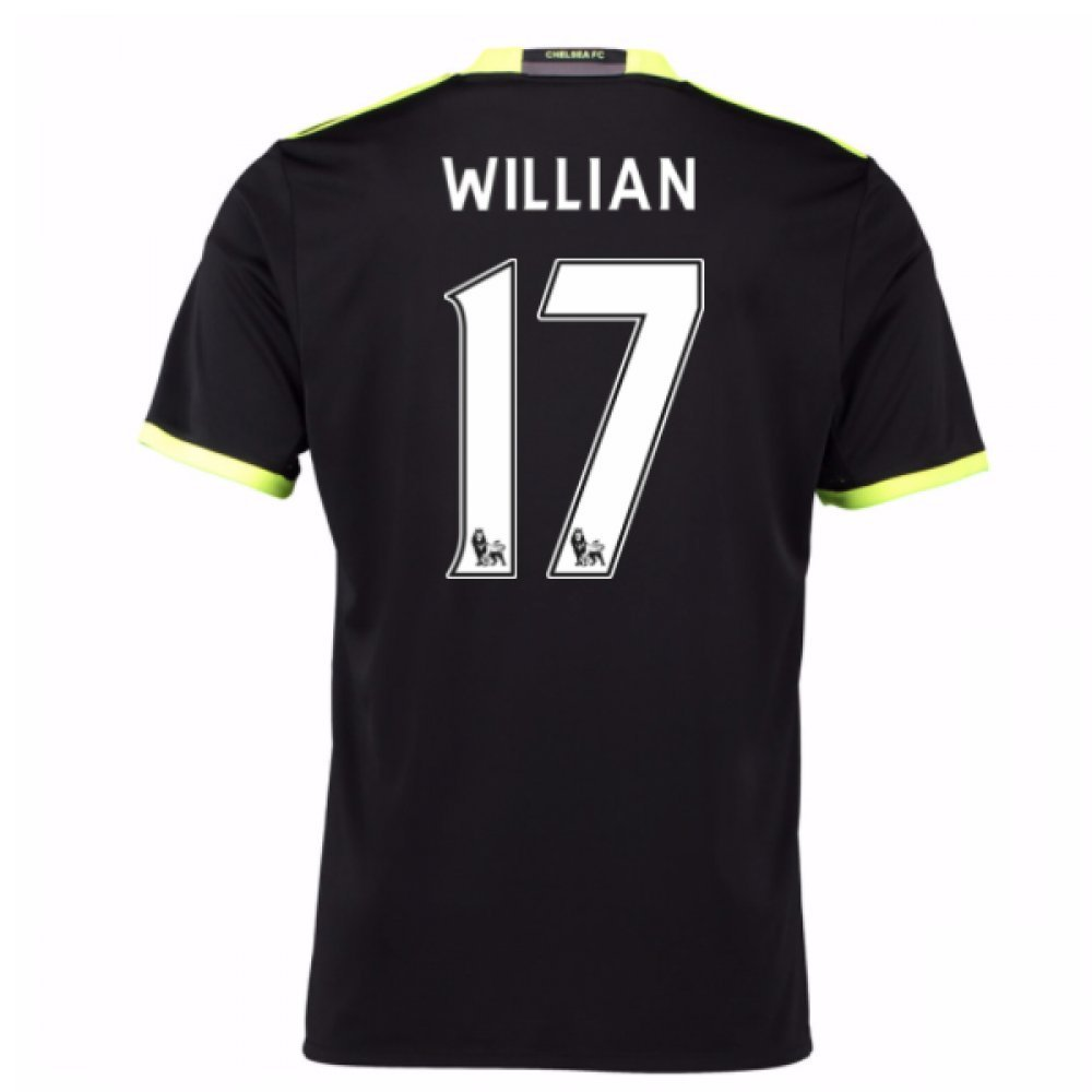 2016-17 Chelsea Away Football Soccer T-Shirt Trikot (Willian 17) - Kids