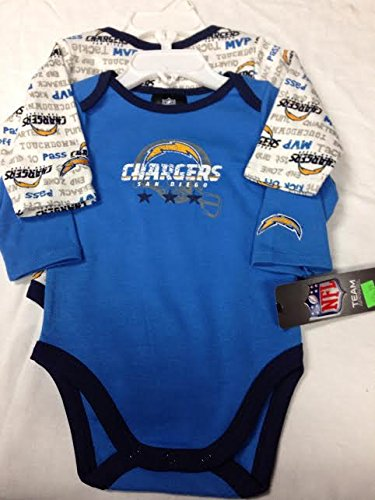 Gerber San Diego Chargers Infant Light Blue-white
