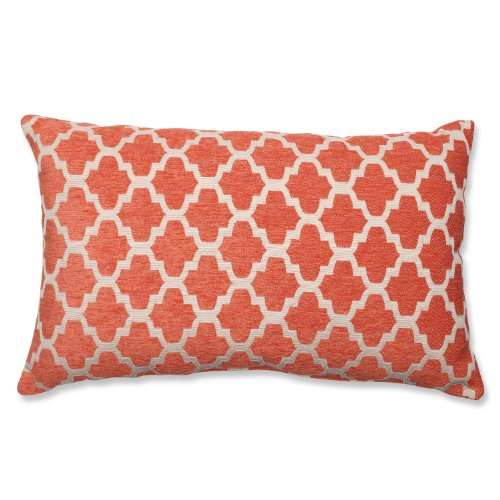 Pillow Perfect Keaton Rectangular Orange