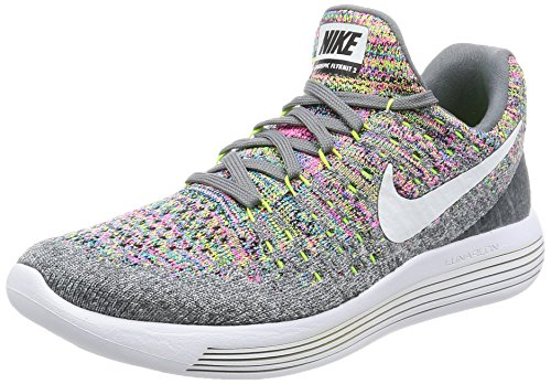 Nike Lunarepic Low Flyknit 2, Scarpe da Running Uomo Cool Grey