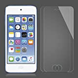 SPARIN [2 Pack] iPod Touch Screen Protector, Tempered Glass Screen Protector for Apple iPod Touch 6th, 5th Generation [Scratch Resist] [Crystal Clear] [Bubble Free]