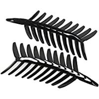 BangBang 10 Pairs Kingkong 5040 5x4x3 3-Blade Single Color CW CCW Propellers for FPV Racer (10 Pairs: Color Black)