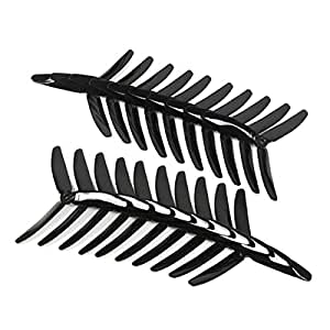 Toolcool 10 Pairs Kingkong 5040 5x4x3 3-Blade Single Color CW CCW Propellers for FPV Quadcopters Multicopters Drones Racer Color Black