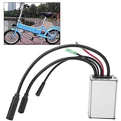 Xinwoer Electric Bicycle Brushless Speed Motor Controller Brushless Waterproof Adapter with Hall for E-Bike Electric Scooter 36V/48V Motor : Sports & Outdoors