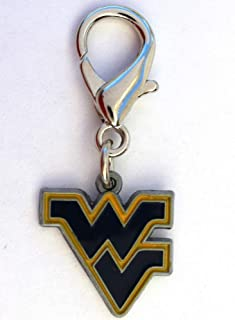 product image for Diva-Dog NCAA 'West Virginia Mountaineers' Licensed College Team Dog Collar Charm
