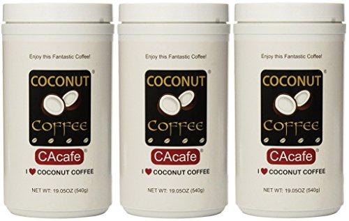 Coconut gwobmu Coffee in Jar #28528 (Cane Sugar Added), 3...