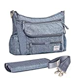 SUNVENO Baby Strollers Bag Organizer Waterproof Diaper Nappy Bag Stroller Accessories Shoulder Bag