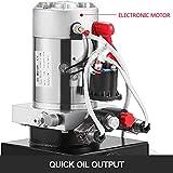 Mophorn 12V Hydraulic Pump Unit 4 Quart