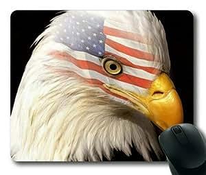 American Eagle Sakuraelieechyan Rectangle Mouse Pad by runtopwell