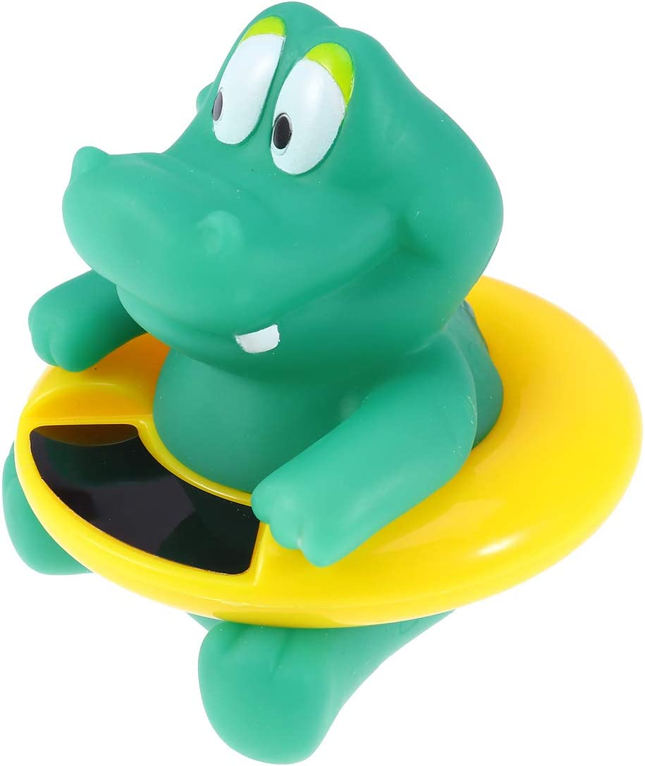 Crocodile Yardwe Baby Bath Thermometer Water Temperature Thermometer for Babies Water Thermometer