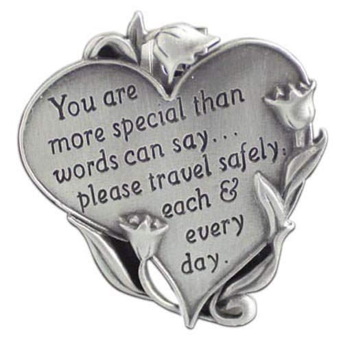 Cathedral Art Heart Visor Clip, You Are Special, - Visor Clips