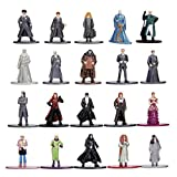 Jada Nano Metalfigs Harry Potter 20 Pack Wave 3 Die-Cast Figures, 1.65' Scale Collectible Figurine 100% Metal, Multi