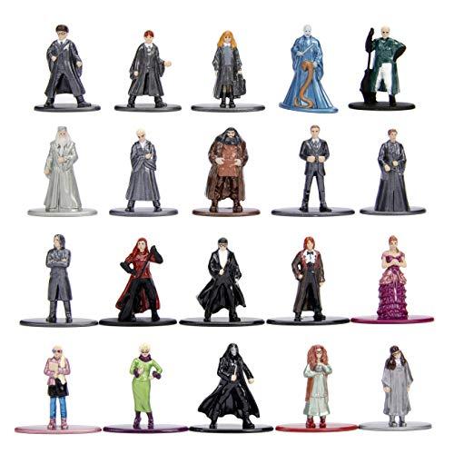 Jada Toys Nano Metalfigs Harry Potter 20 Pack Wave 3 Die-Cast Figures, 1.65