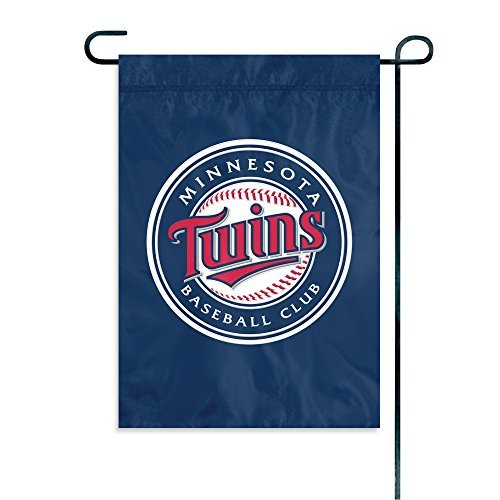 The Party Animal MLB Minnesota Twins MLB Garden Flag, Blue, 18