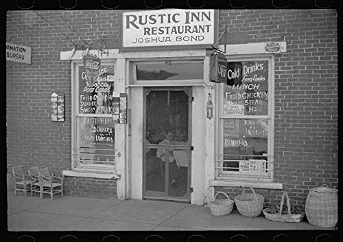Restaurant and shop in Nashville, Brown County, Indiana