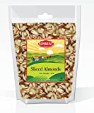 SUNBEST Sliced Raw Almonds 2 Lbs in Resealable Bag For Sale