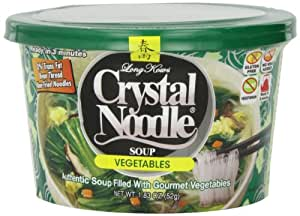 Crystal Noodle Vegetables & Eggs Soup, 1.83-Ounce Cup (52 Grams) (Pack of 6)