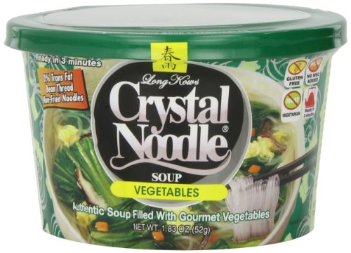 - Crystal Noodle Soup, Vegetable, 1.83 Ounce (Pack of 6)