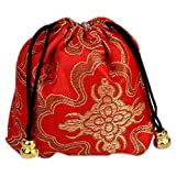 chinese red packages - TOOGOO(R) 10x Gift Bag Set Jewelry Package Chinese Style Gift Bags Red