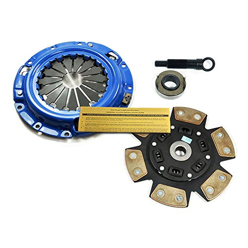 (EFT STAGE 3 CLUTCH KIT 1996-2005 MITSUBISHI ECLIPSE GS RS 2.4L 4G64 COUPE SPYDER)