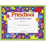 "Trend Preschool Certificate - 8.50"" x 11"" - Assorted"