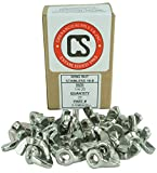 Stainless 1/4-20 Wing Nut, Coarse Thread, 304 Stainless Steel, 25 Pieces (1/4-20 Wing Nut)