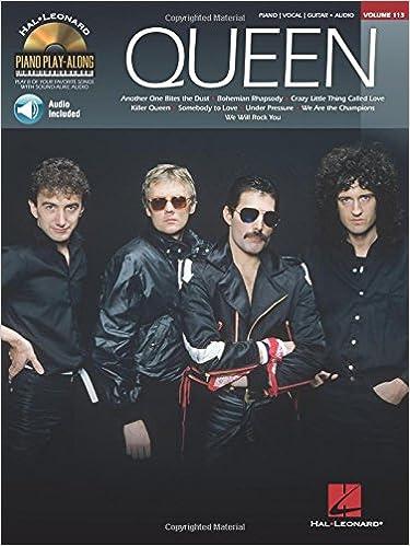 Amazon com: Queen: Piano Play-Along Volume 113 (0884088578053