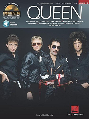 Queen Piano Play-Along Volume 113 [Queen] (Tapa Blanda)
