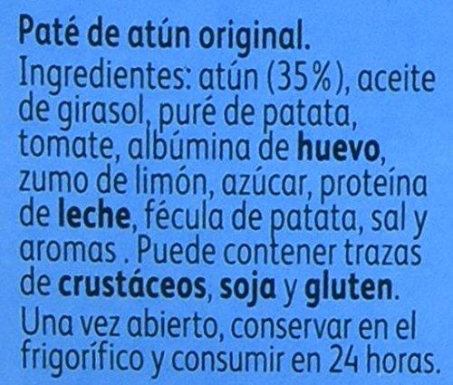 Calvo - Pate de atún, 2 x 75 g (total 150 g): Amazon.es: Alimentación y bebidas