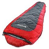 BigFoot Outdoor XXL (Nomad) Mummy Sleeping Bag 7.5 Feet Long – Great for Camping, Hiking, Trekking + Free Stuff-Sack