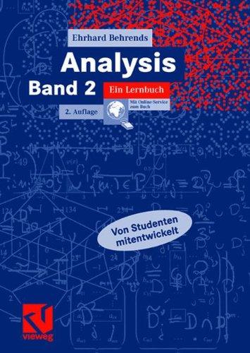 Analysis Band 2: Ein Lernbuch