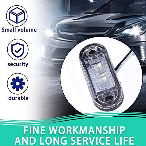 1pc Piranha LED Side Marker Blinker Light Lamp For Car Truck Trailers 12//24V Cloverclover