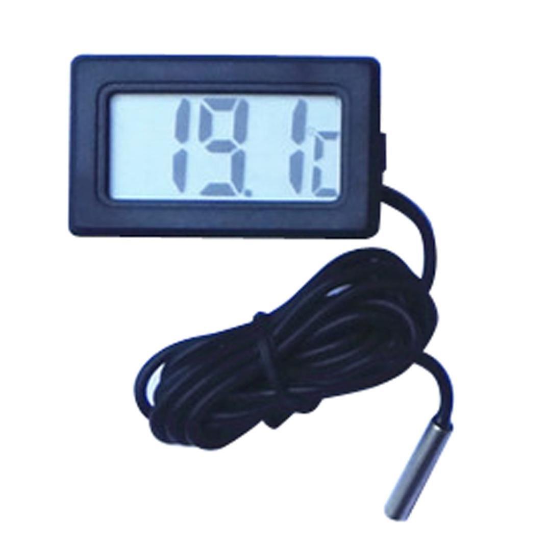 Malloom 1 m termómetro medidor de temperatura digital LCD Display [Clase de eficiencia energética A+++]