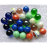 """Qich 12pieces assorted color 1""""shooter marbles"""