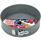 EuroHome 2182073 9.4 in. Marble Coated Springform Pan