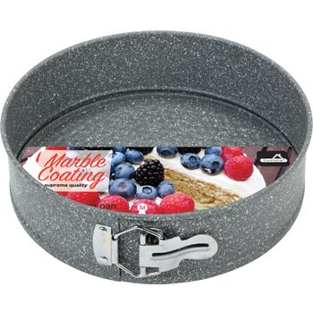 EuroHome 2182073 9.4 in. Marble Coated Springform Pan by Euro-Home