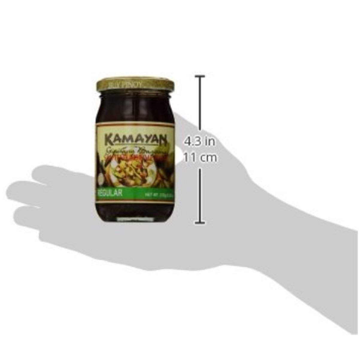Kamayan Sauteed Shrimp Paste, Regular, 8.8 Ounce, 2 counts by World Food Mission (Image #4)