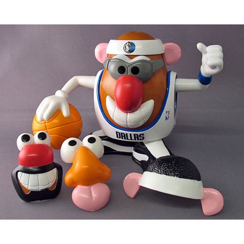 Dallas Mavericks Potato Head