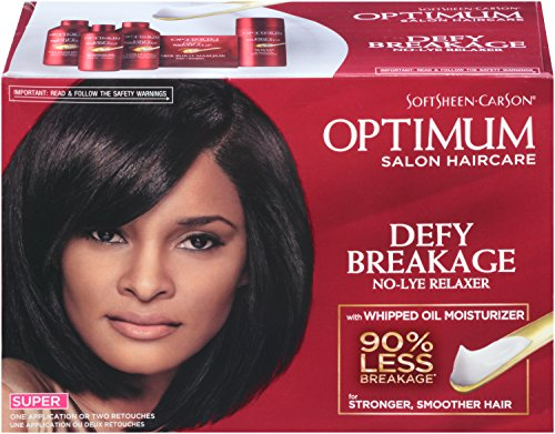 Optimum Care Salon Collection Super No-Lye Relaxer,  1 Count Box -