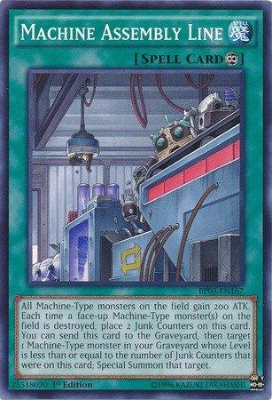 Yu-Gi-Oh! - Machine Assembly Line (BP03-EN167) - Battle Pack 3: Monster League - 1st Edition - Common