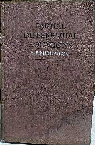 Amazon Fr Partial Differential Equations Mikhailov V Livres