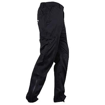 72db6445d690bb Callaway Golf Mens 2018 Knit 3 Layer Waterproof Trousers - Caviar - L-S