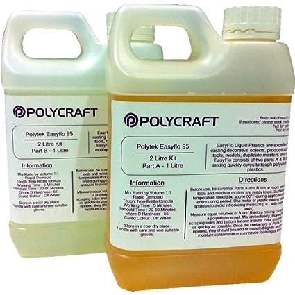 Polycraft EasyFlo 95 resina líquida de poliuretano para fundir (2 ...