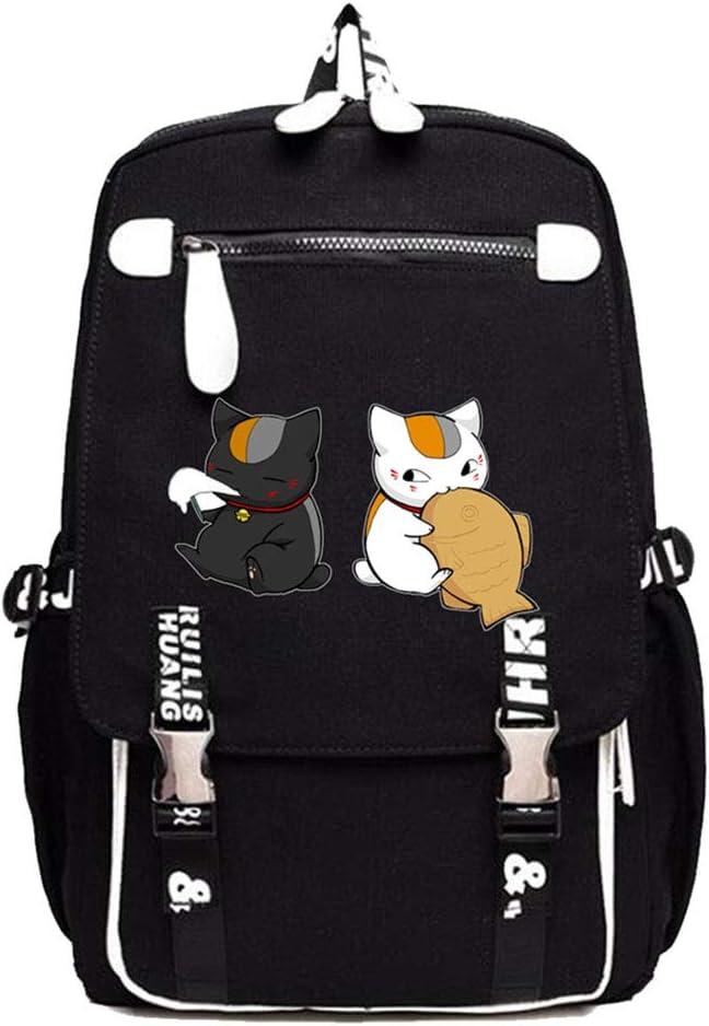 Gumstyle Natsume Yuujinchou Anime Cosplay Laptop Backpack Book Bag Rucksack Schoolbag for Students 14