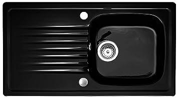 Keramikspule Targa 50 Von Villeroy Boch In Glossy Black Spulen