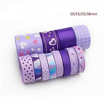 12 unds cintas colores lavanda algodon saten perfectas para mil ideas lazos pelo, canastillas,
