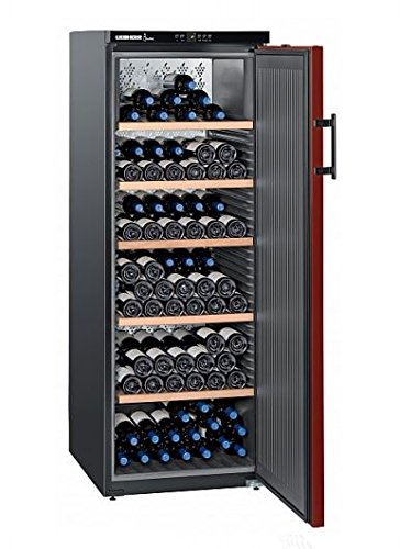 Liebherr WK 201 - refroidisseurs à vin (Autonome, Acier inoxydable, SN-T, A++, Rouge, Noir) [Classe énergétique A++] WK201