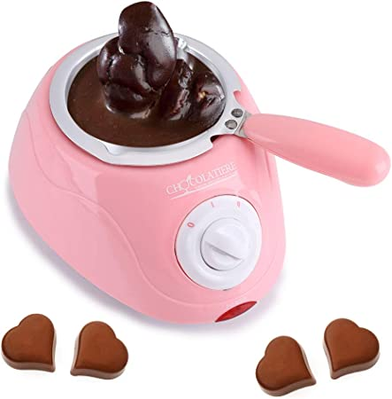 BOLANA 25w Chocolate Melting Warming Fondue Set Melting Machine DIY Tool for Melting Chocolate Candy Cheese