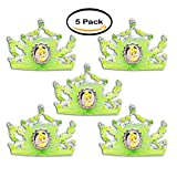 PACK OF 5 - Tinker Bell Tiara Adult Child Halloween Accessory